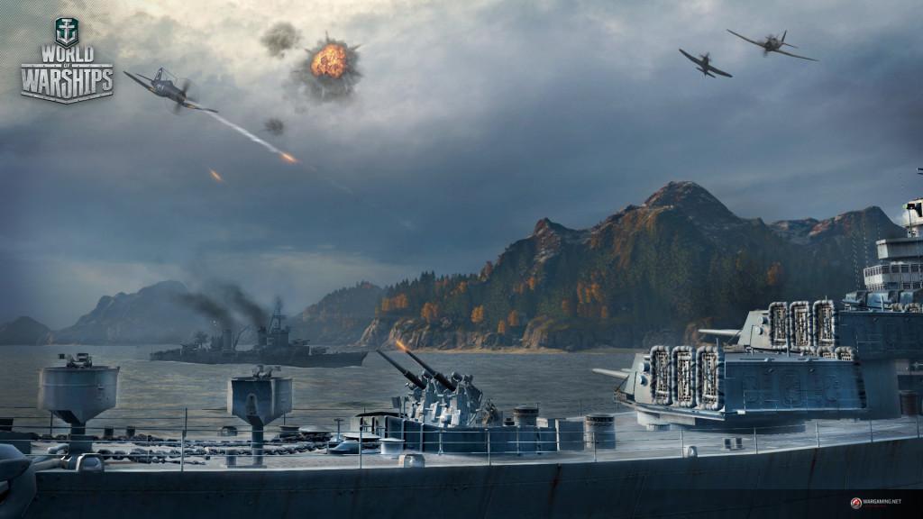 World of Warships бои