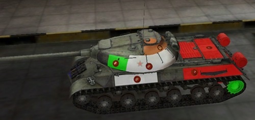 поджечь танк в World of Tanks