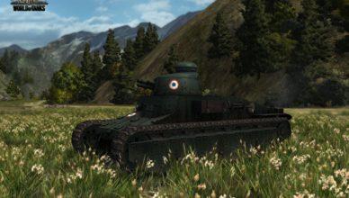 Обзор французского танка D1