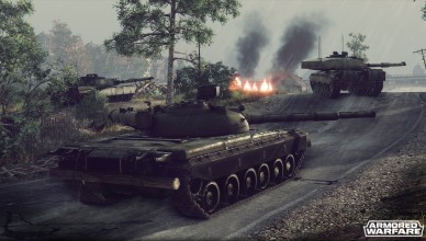 Armored Warfare - клон World of Tanks