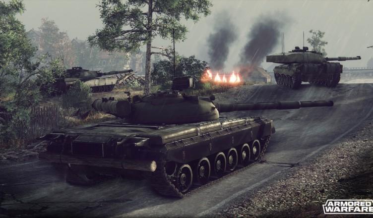 Armored Warfare - клон World of Tanks