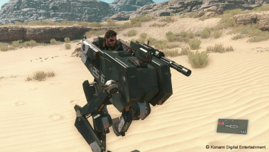 D-Walker в игре Metal Gear Solid 5
