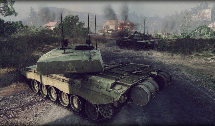 Обзор танка ХМ1 в Armored Warfare: Проект Армата