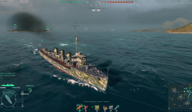 IJN Isokaze - японский эсминец IV уровня