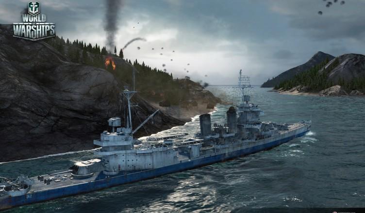 Как играть на крейсере New Orleans, гайд по крейсеру Новый Орлеан