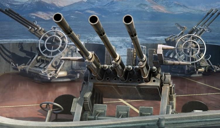 Как стрелять по самолетам в World of Warships