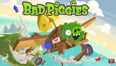 Bad Piggies – плохие свинки берут реванш…