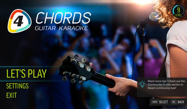 Комментарий на компьютерную игру FourChords Guitar Karaoke