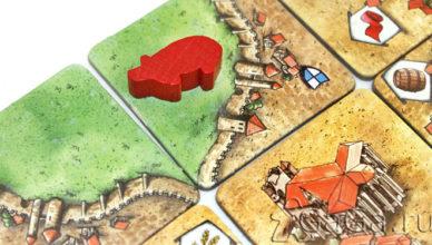 Настольная игра Каркассон: Предместья и Обитатели