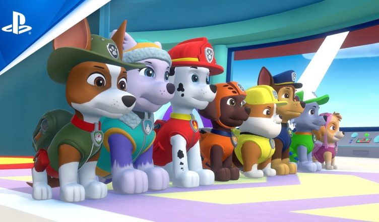 «Paw Patrol mighty pups save adventure bay!»